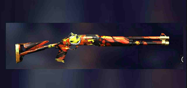 Shotgun M1014 Demolitionist