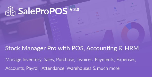 Download SalePro v3.1 - Inventory Management System with POS, HRM, Accounting - nulled