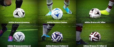 PES 2020 Adidas Brazuca Club Ballpack v2 by Ibro