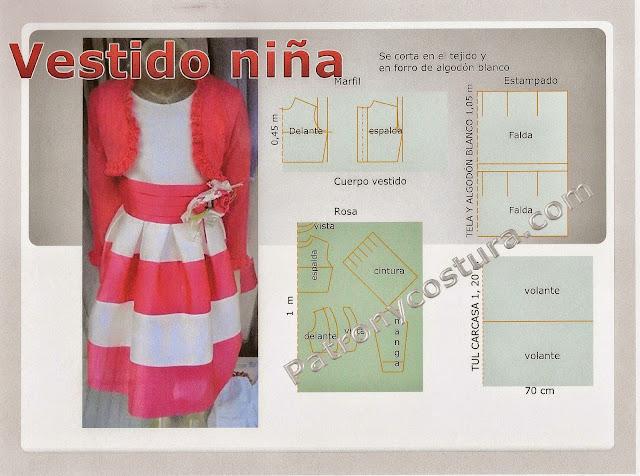 http://www.patronycostura.com/2015/04/diy-vestido-de-nina-y-torera-tema-100.html