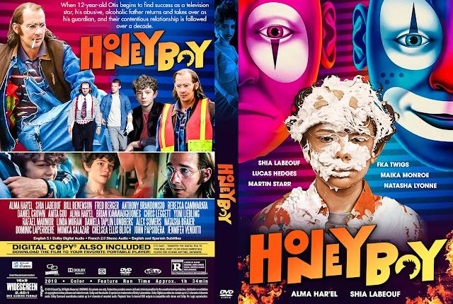 Honey Boy DVD Cover