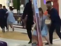 Ngeyel Gak Mau Pakai Masker, Wanita ini Sampai diseret Petugas Keluar dari Mall