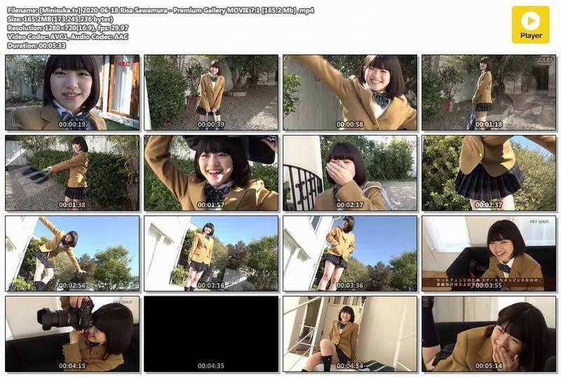 [Minisuka.tv] 2020-06-18 Risa Sawamura &Premium Gallery MOVIE 7.1 [165.2 Mb]