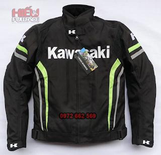 áo khoác bảo hộ kawasaki