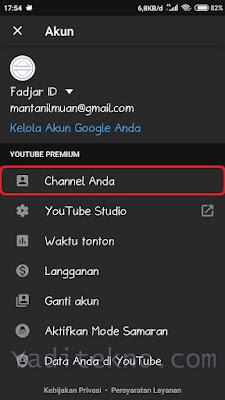 Cara Mengganti Nama Channel YouTube Lewat HP