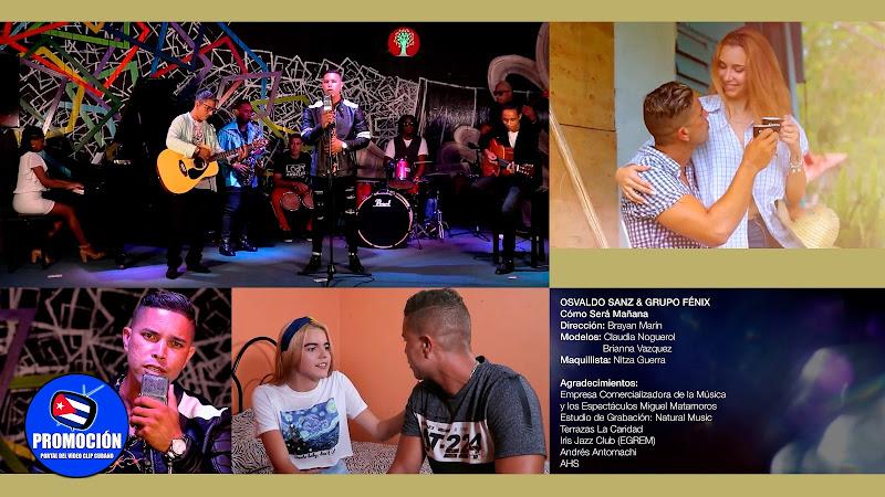 Osvaldo Zanz & Grupo Fénix - ¨¿Cómo será mañana?¨ - Videoclip - Dir: Bryan Marín. Portal Del Vídeo Clip Cubano. Música cubana romántica. Canción. Cuba