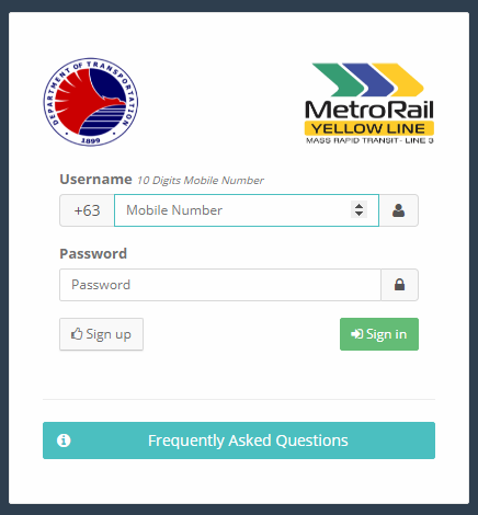 MRT 3 Trace Web App | Contact Tracing Website |  Metro Rail Transit Line 3