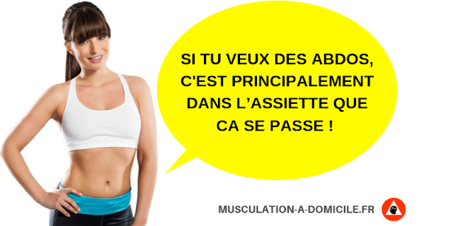 musculation-a-domicile-methode-poids-du-corps-haltere-abdos-apparent-diete-perte-de-graisse-restriction-calorique