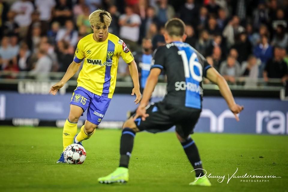 Công Phượng chơi cho CLB Sint Truiden