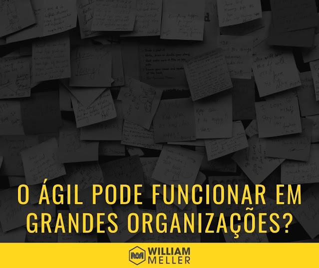 Agile pode funcionar em grandes organizações?