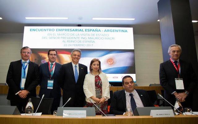 Encuentro de Cabrera con los principales empresarios españoles
