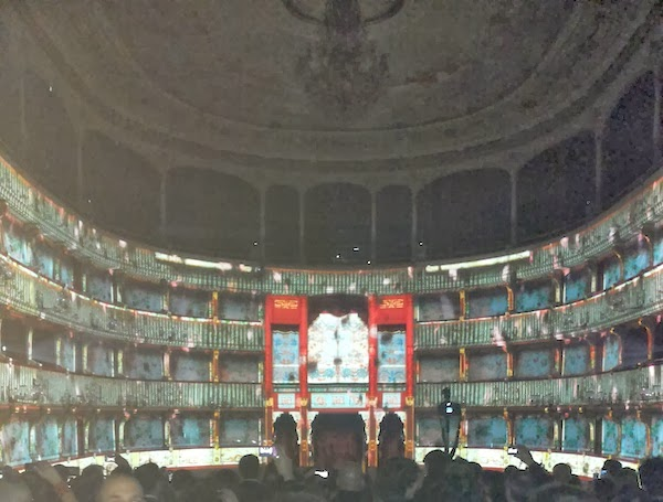 LuisaViaRoma Firenze4ever Ethnomorphic party at Teatro la Pergola