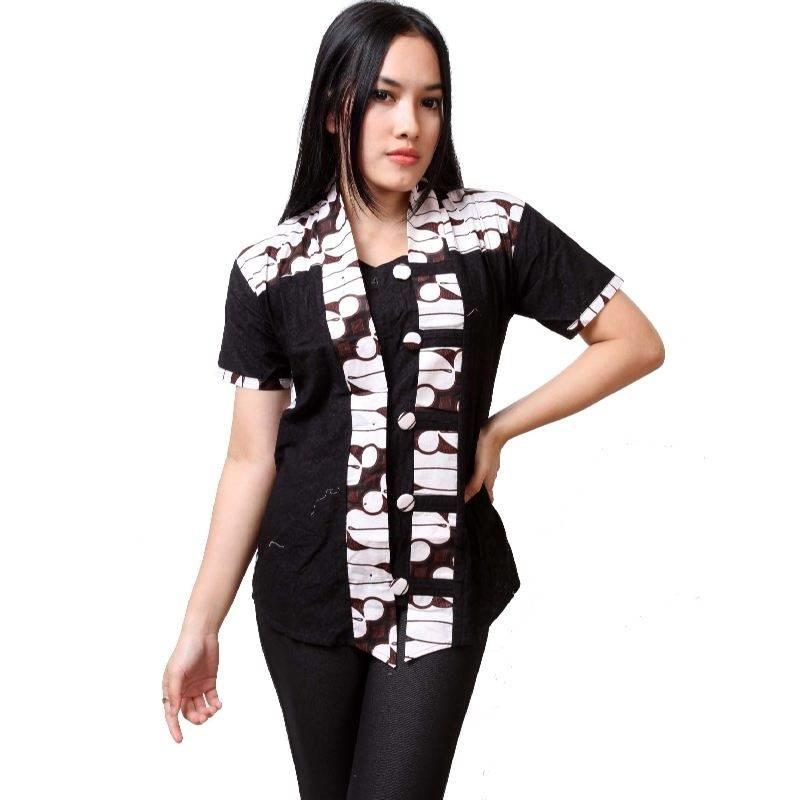 20+ Baju Batik Lengan Pendek Modern 2019 yang Mempesona  a1610a5474