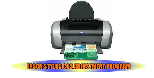 Epson Stylus C65 Printer Adjustment Program