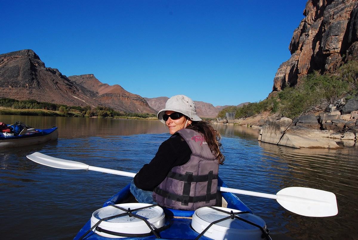 rivière Orange Namibie