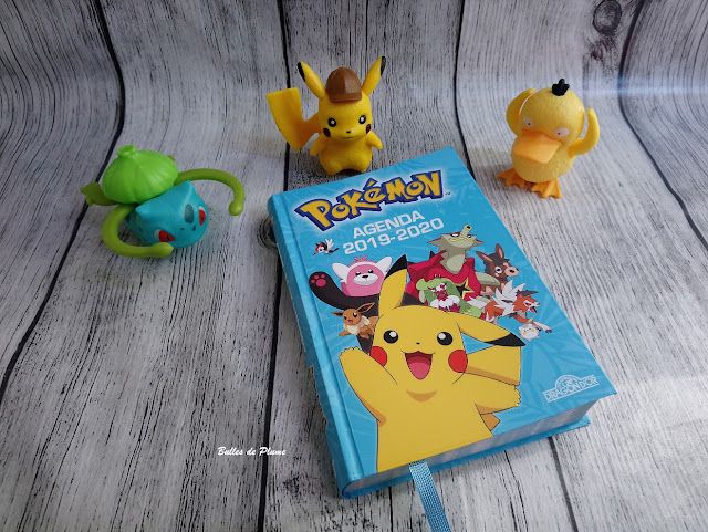 Agenda Pokemon 2019-2020 (Les Livres du Dragon d'Or)