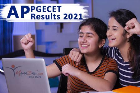 AP PGECET Results 2021