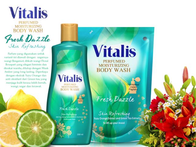 Vitalis Perfumed Moisturizing Body Wash Fresh Dazzle
