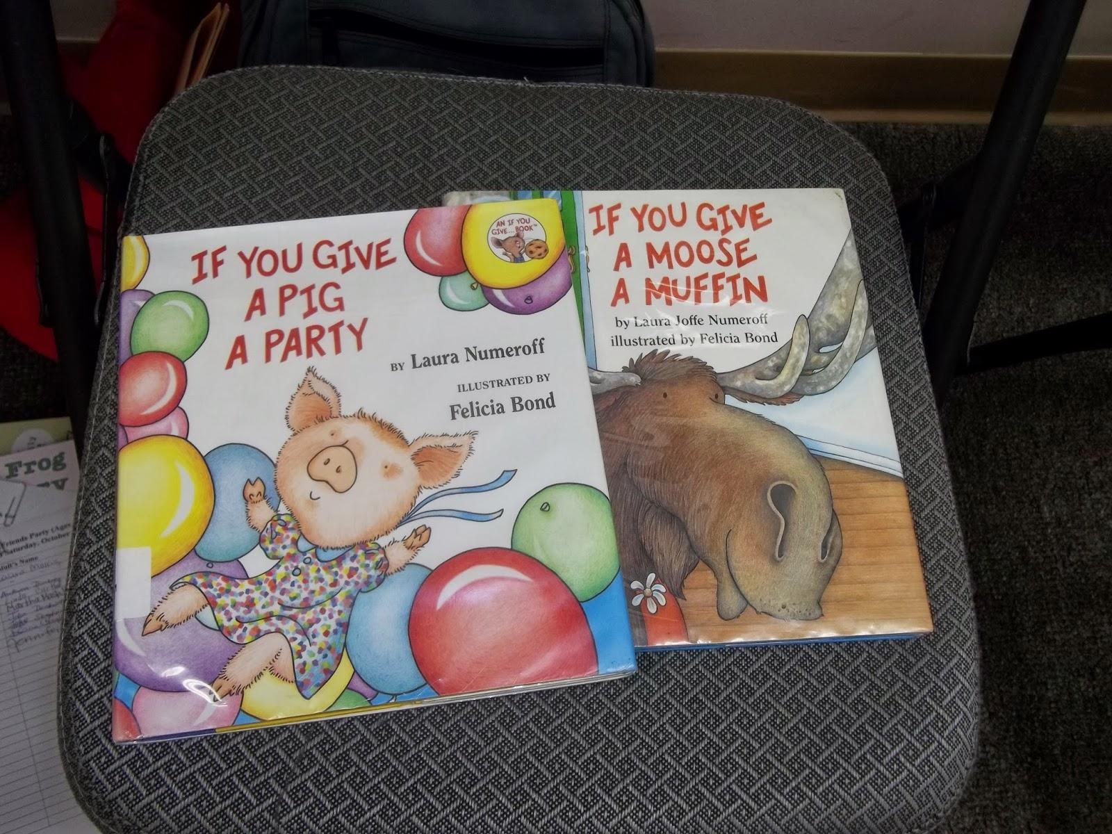 What Is Bridget Reading Mouse Amp Friends Party