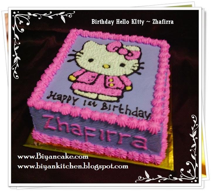 Biyancakes Pesa Kue Tart Di Bekasi Kue Tart Hello Kitty
