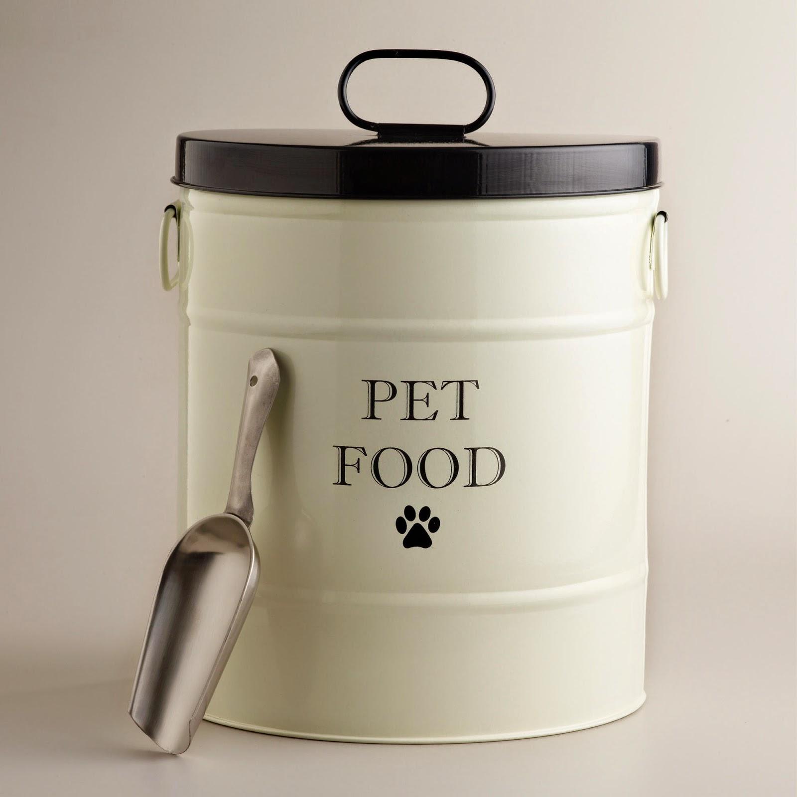 Rustic Dog Food Storage Tins Vintage Tk Maxx