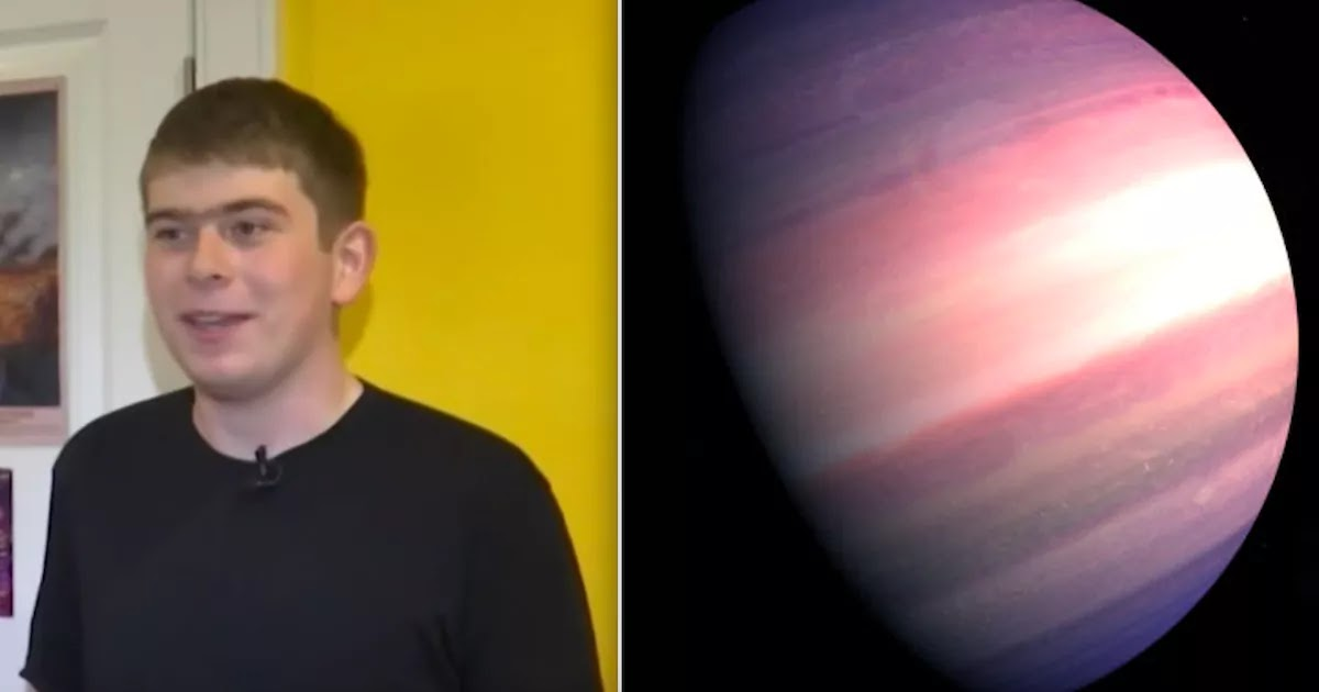 17-Year-Old Discovers New Planet 6.9 Times Larger Than Earth On Just His Third Day Of An Internship With NASA