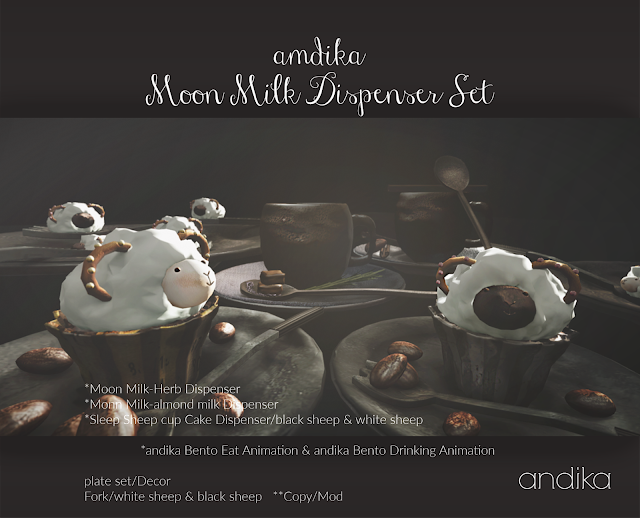 andika Moon Milk Disp・・・