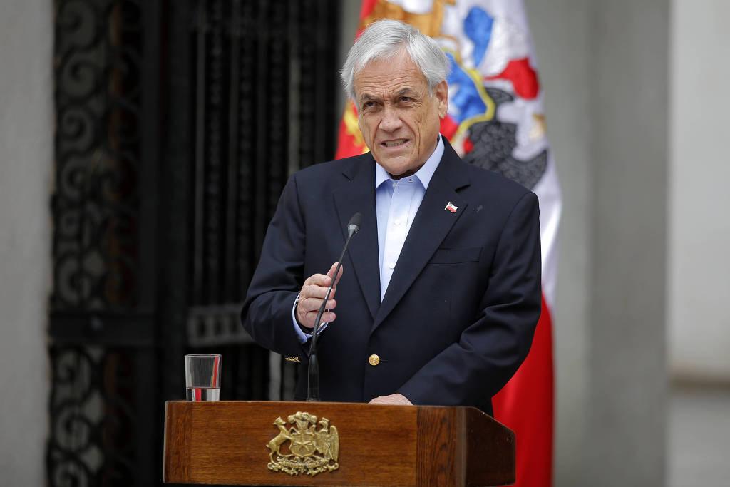 Presidente do Chile pede a ministros que coloquem cargos à disposição