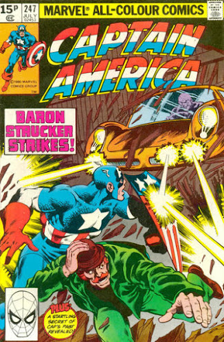 Captain America #247