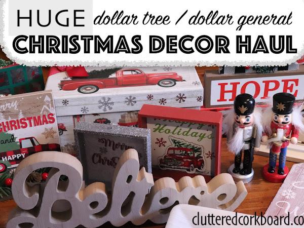 Budget Friendly Christmas Decor HAUL