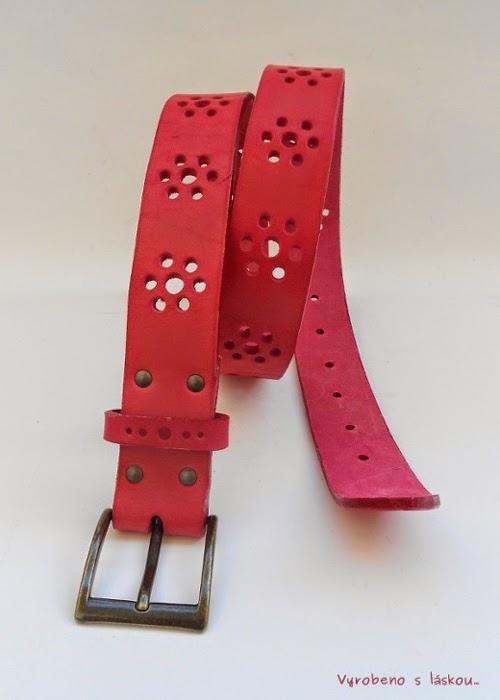 b620e06e4 Tyto opasky Vám vydrží celý život. Vyrobíme v šířkách 2-4 cm, délku  upravíme dle obvodu pasu na přání. Můžete si také vybrat barvu opasku, vzor  i sponu.