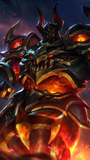 Tigreal Fallen Guard Heroes Tank of Skins V1