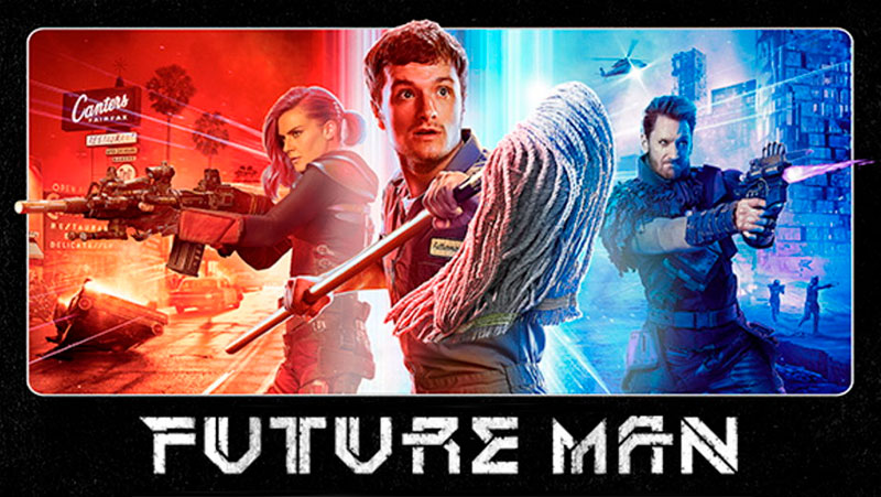 Future Man Poster HBO Hulu