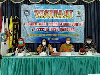 SMP Negeri 2 Balong kabupaten Ponorogo menerima kunjungan dari direktorat PMPK Kemendikbud RI dan P4TK TKPLB Bandung