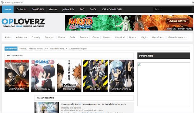 Situs Download Film Anime Terbaru