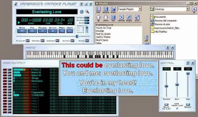 Software Karaoke Van Basco