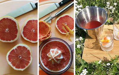 Zubereitung Grapefruit Negroni