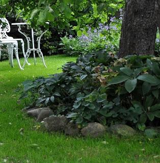 Gartengestaltung Beet einfassen