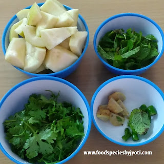 Guava chutney-Without onion garlic chutney