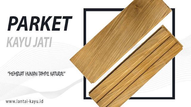 harga lantai kayu jati lengkap