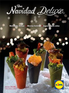 """Catálogo Lidl """"Una Navidad Deluxe"""" 2016"""