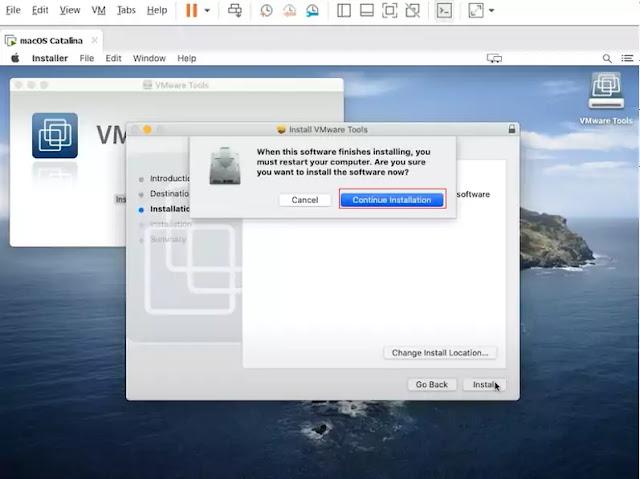 vmware tool installation