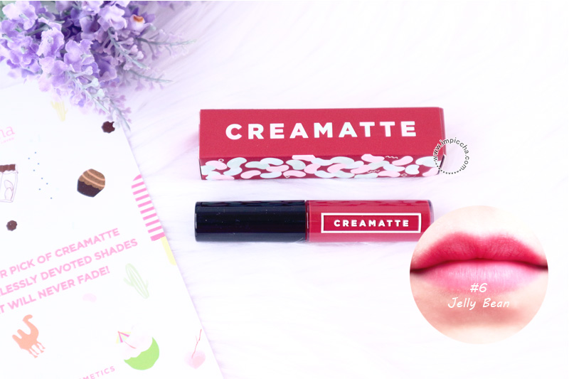 Emina Creamatte Lip Cream Jelly Bean