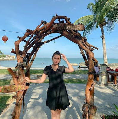 Nadia Edrea di Pantai