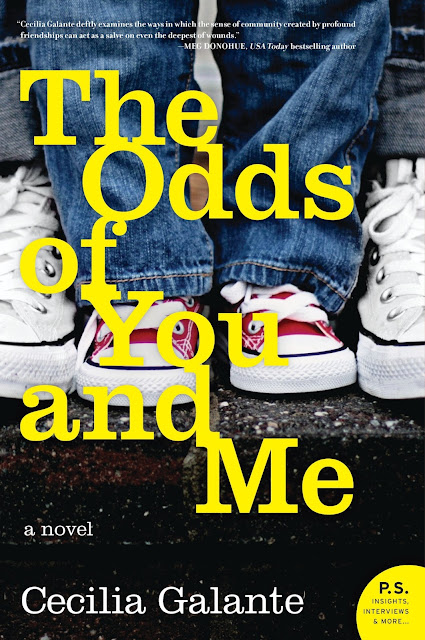The Odds of You and Me and Q & A with author Cecilia Galante