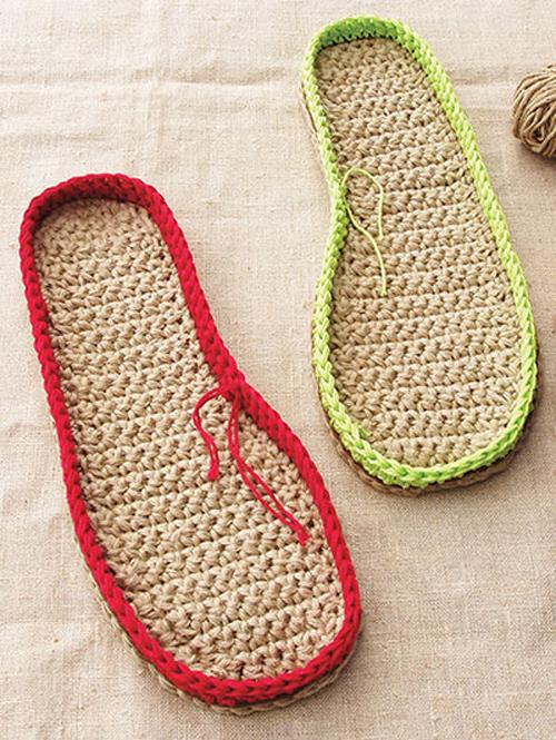 Learn to Make Crochet Soles Pattern
