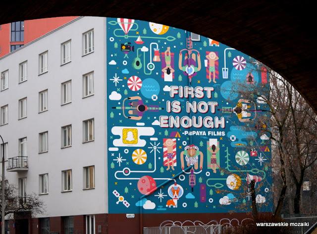 Warszawa Warsaw Solec street art