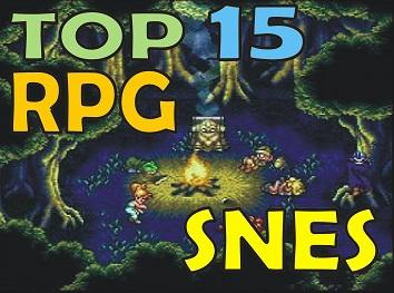 Top 15 Mejores Roms RPG SNES - Super Nintendo