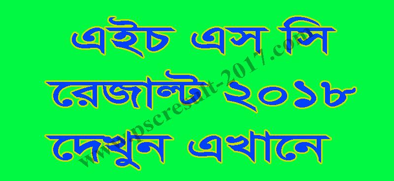 HSC Result 2018 Bangladesh Education Board