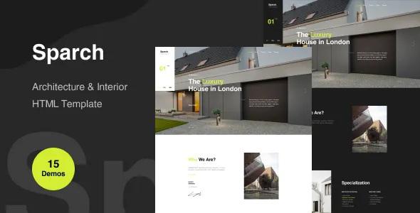 Best Architecture & Interior Website Template